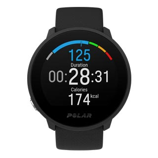 fitness smartwatch polar unite black remote personal training